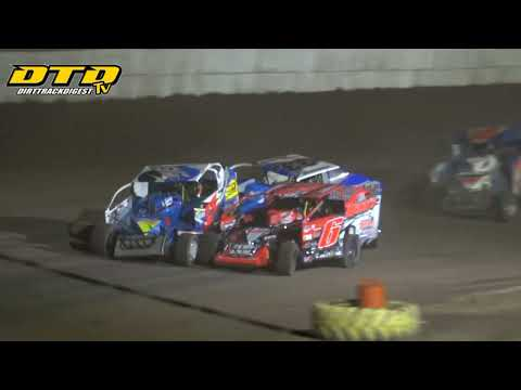 Ransomville Speedway | DIRTcar 358-Modified Feature Highlights | 7/9/21 - dirt track racing video image