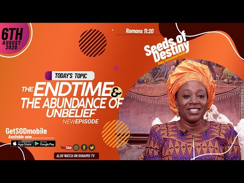 Dr Becky Paul-Enenche - SEEDS OF DESTINY - THURSDAY AUGUST 6, 2020