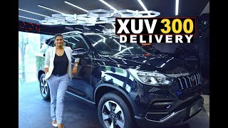 Mahindra XUV 300 delivery Orange colour | SUV for women