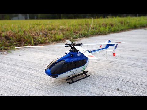 XK K124 Brushless EC145 Scale Helicopter - 6G & 3D Modes Test Flight (with Comments) - UCWgbhB7NaamgkTRSqmN3cnw