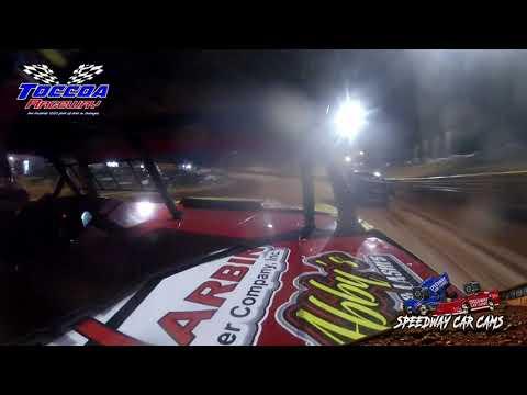 #19 Nathan Bowen - Stock 8 - 10-23-21 Toccoa Raceway - In-Car Camera - dirt track racing video image