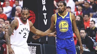 Kawhi Leonard & Kevin Durant BEST Plays From 2018-19 Season