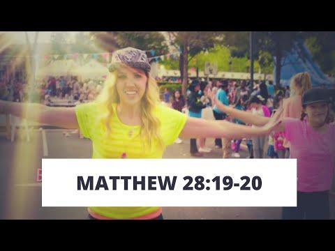 Memory Verse Song - Matthew 28:19-20