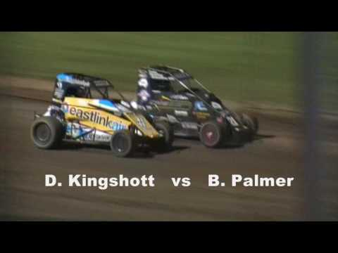 World Midget Championship - Round 4 - Pole Shuffle - Lismore Speedway - 28.01.17 - dirt track racing video image