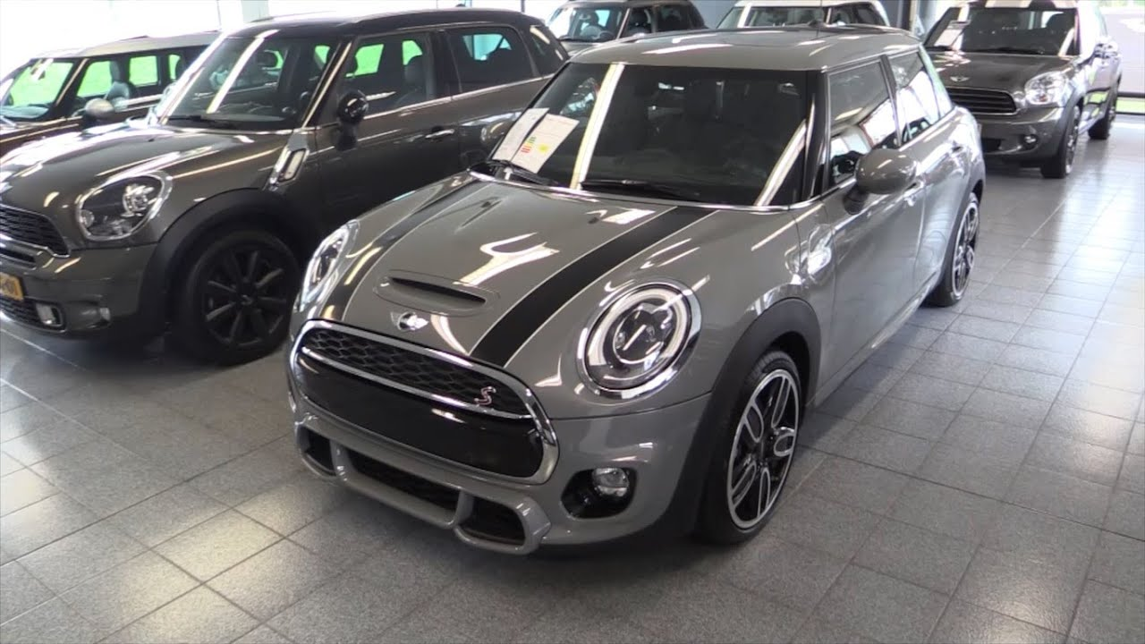 Mini Cooper S John Works 2016 Start Up Drive In Depth Review Interior Exterior Audiomania Lt