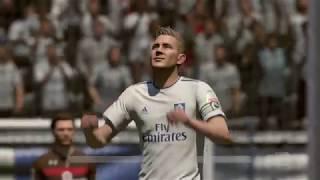 FIFA 19 | Hamburger SV - FC St  Pauli (Nederlands commentaar)