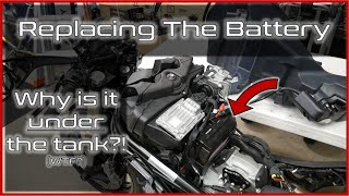 Sostituzione batteria Ducati MONSTER 696