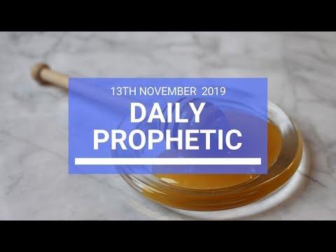 Daily Prophetic 13 November 2019 Word 2