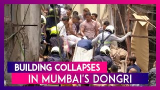 Dongri Building Collapse in Mumbai: 12 Dead As Per Initial Reports While 40 Feared Trapped in Rubble