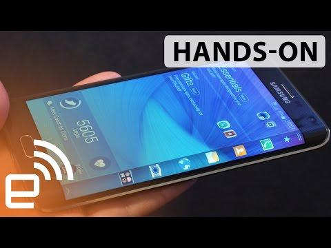 Samsung Galaxy Note Edge hands-on | Engadget - UC-6OW5aJYBFM33zXQlBKPNA