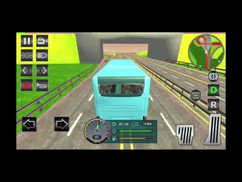 Bus Simulator 2019 - Free Bus Driving Game(By High Top Rock Studio) Android Gameplay[HD]