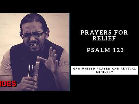 GOD WILL GIVE YOU RELIEF, PSALM 123, Daily Promise and Powerful Prayer