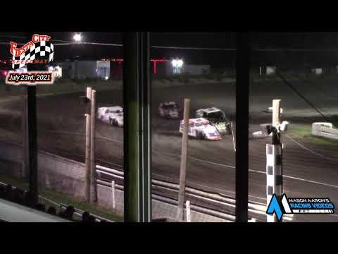 Fiesta City Speedway WISSOTA Modified Races (7/23/21) - dirt track racing video image