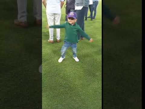 Sarfaraz Ahmed's Son Copies Hasan Ali Wicket Celebration