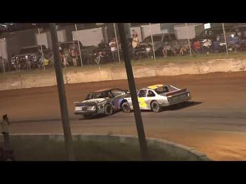 07/17/21 IP Builders Road Warriors  Feature Race - Oglethorpe Speedway Park - dirt track racing video image