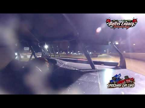 #4X Ayden Scott - Midwest Mod - 6-18-2021 Dallas County Speedway - In Car Camera - dirt track racing video image