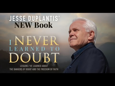 Jesse Duplantis' NEW BOOK available TODAY!