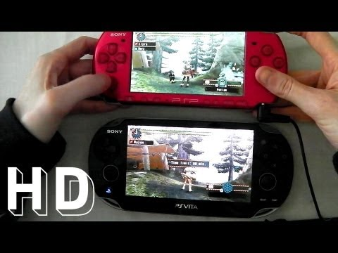 PS VITA vs Sony psp 3000 with Monster Hunter Freedom Unite - UChtY6O8Ahw2cz05PS2GhUbg