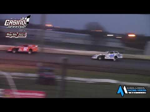 Casino Speedway WISSOTA Modified A-Main (5/9/21) - dirt track racing video image