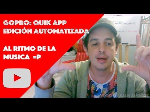 TUTORIAL:  QUIK una aplicacion de GoPro para editar