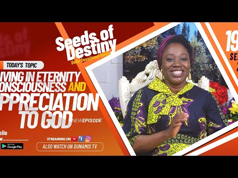 Dr Becky Paul-Enenche - SEEDS OF DESTINY - SATURDAY SEPTEMBER 19, 2020