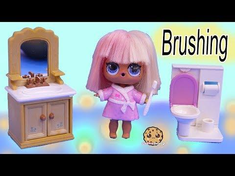 Happy Teeth + Princess Tooth ! LOL Surprise Doll Dentist Visit - Toy Video - UCelMeixAOTs2OQAAi9wU8-g