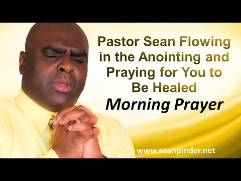 Pastor Sean Flowing in the Anointing and PRAYING for YOU to be HEALED