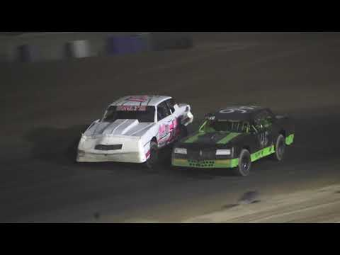 Street Stock A-Feature at Crystal Motor Speedway, Michigan on 07-03-2021!! - dirt track racing video image