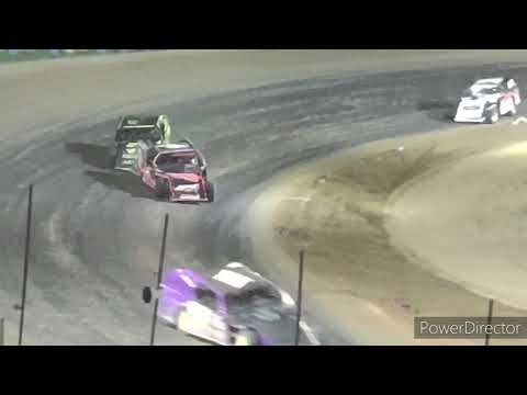 IMCA Modified A-Main - Crystal Motor Speedway - 9-18-2021 - dirt track racing video image