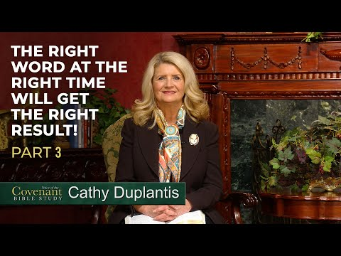 Voice of the Covenant Bible Study, May 2020 Week 3  Cathy Duplantis