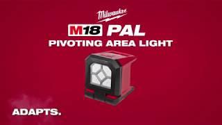 Töövalgusti Milwaukee M18 PAL-0 - ilma aku ja laadijata