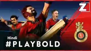RCB PlayBold Anthem Hindi  - zevegamusic , Alternative