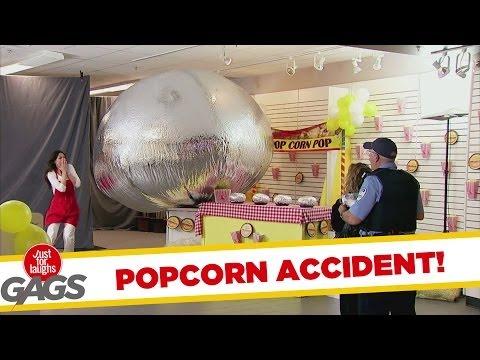 EXTREME POPCORN ACCIDENT!!!