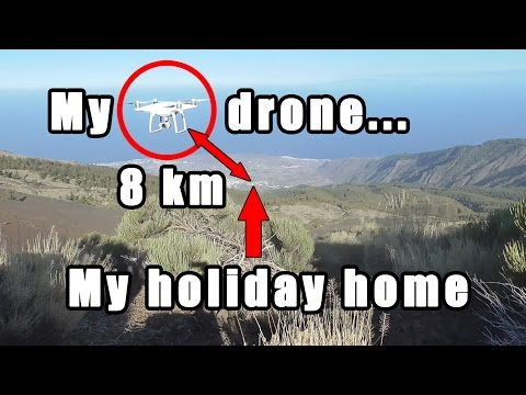 XIAOMI MI Drone 4K - Easy Range Extender Mod Flight Test - 5+ Mile