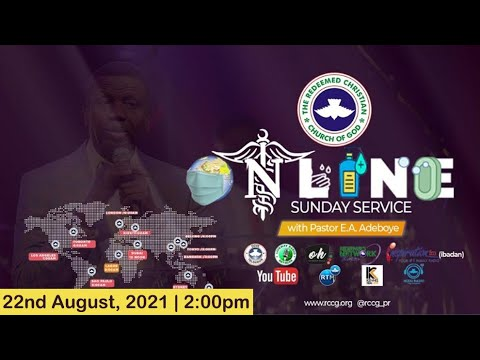 RCCG AUGUST 22nd 2021  PASTOR E.A ADEBOYE SPECIAL SERVICE