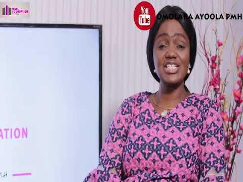 Watch Wall Foundation Show with Omolara PMH