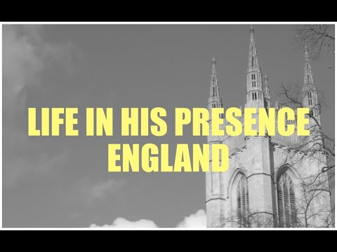LOVING JESUS  LIFE IN HIS PRESENCE  LONDON NOVEMBER 2019
