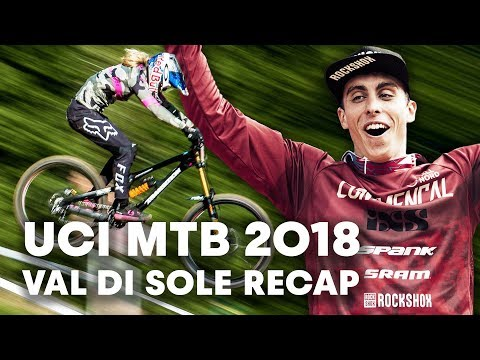 Perfect Racing Day at Val di Sole: MTB Downhill Full Recap   UCI MTB 2018 - UCXqlds5f7B2OOs9vQuevl4A