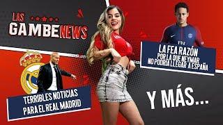 Terribles noticias para el Real Madrid / La FEA razón por la que Neymar no podría regresar a España