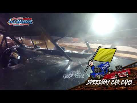 #E15 Eric Smith - Limited - Ice Bowl 2021 - Talladega Short Track - In-Car Camera - dirt track racing video image