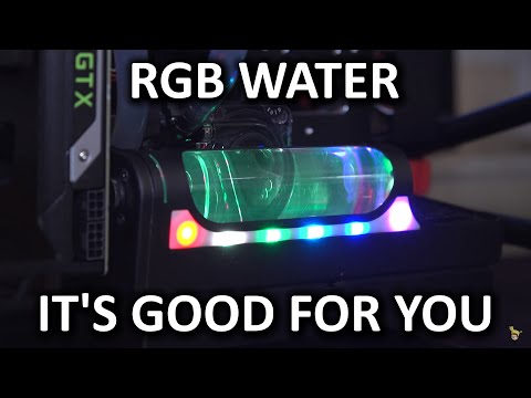 Precise Control, Quiet Performance, and RGB Lighting - New Swiftech Coolers - CES 2016 - UCXuqSBlHAE6Xw-yeJA0Tunw