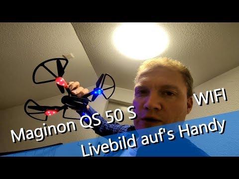 ALDI Maginon QS-50S WIFI - Drohne streamt live Flugbild auf das Handy + Flugsim in der Mobil App - UCNWVhopT5VjgRdDspxW2IYQ