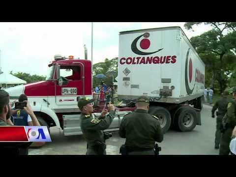 Căng thẳng tại biên giới vì Venezuela chặn hàng viện trợ Mỹ (VOA)