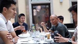 TRAVEL VLOG: GETTING TO KNOW SOME OFWS IN ITALY | Albert Kurniawan