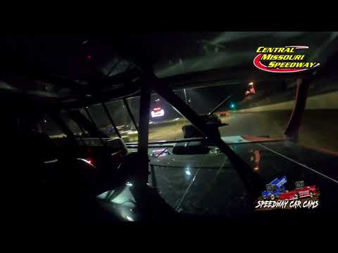 #75 Gunner MArtin - A Modified - 7-4-2021 Central Missouri Speedway - In Car Camera - dirt track racing video image
