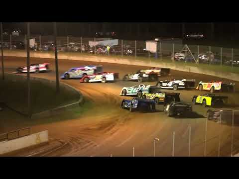 06/18/21 602 Crate Late Models Feature - Oglethorpe Speedway Park - dirt track racing video image