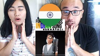 Indonesians React To Foreigner Sings Indian song Bekhayali | Project Nightfall