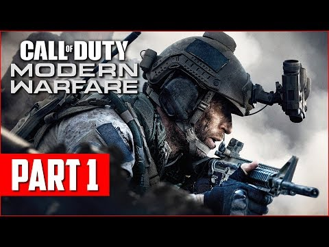 Call of Duty Modern Warfare Campaign Gameplay Walkthrough, Part 1! (COD MW PS4 Pro Gameplay) - UC2wKfjlioOCLP4xQMOWNcgg