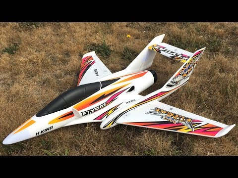 HobbyKing H-King Flycat 70mm 12-Blade EDF Jet Maiden Flight Review - UCJ5YzMVKEcFBUk1llIAqK3A