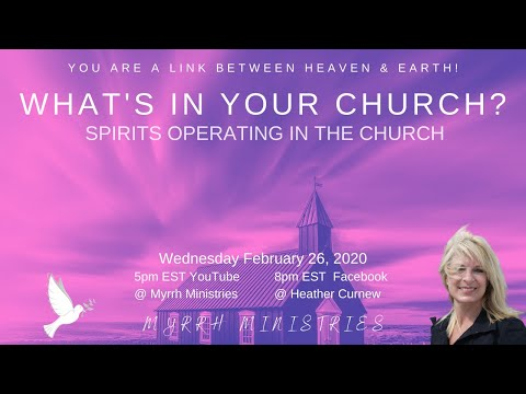 What's In Your Church? How to Recognize what Spirits are Operating in the Church